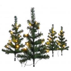 4er Set Mini Weihnachtsbaum...