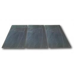 3er Set Abdeckplatte für 80cm breite Kochfelder