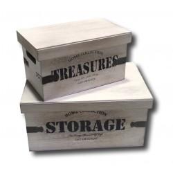 Aufbewahrungsboxen Box Holz...