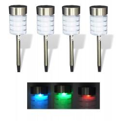 4 x LED Solarlampe...