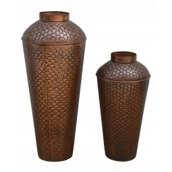Vasenset orientalisch, Kupfer-Look