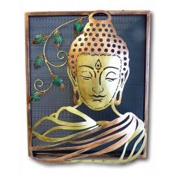 Buddha Relief Wandbild