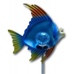 Solargartenstecker Maritim - Fisch
