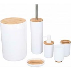 Bad Set 6-tlg. Bambus beige...