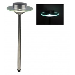 """Solarlampe """"Ufo"""" mit integrierter Glasscheibe"""