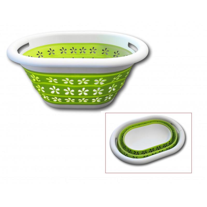 Faltbarer Wäschekorb Pop-Up Wäschebehälter Wäschesammler Wäschebox Korb  Tragekorb klappbar
