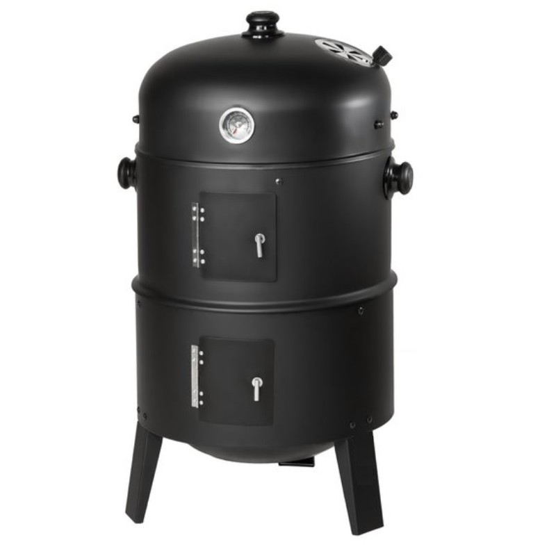 BBQ Smoker aus Stahl
