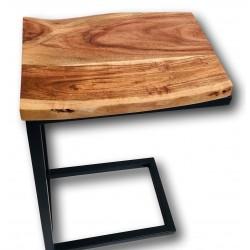 """Tischplatte in """"Live-Edge"""" natürlicher Form"""