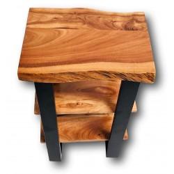 Tischplatten in natürlicher Live-Edge Form